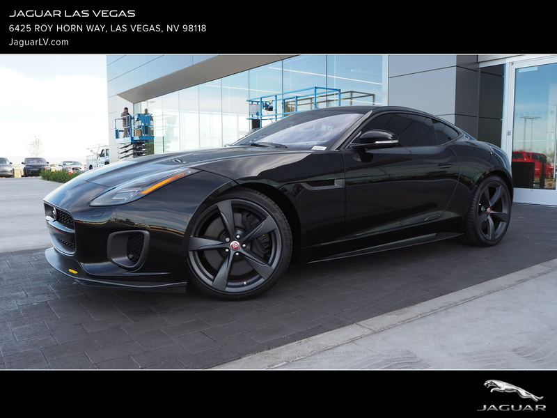 New 2018 JAGUAR F-TYPE COUPE AUTO 400 SPORT